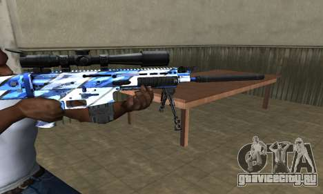 Mount Sniper Rifle для GTA San Andreas второй скриншот