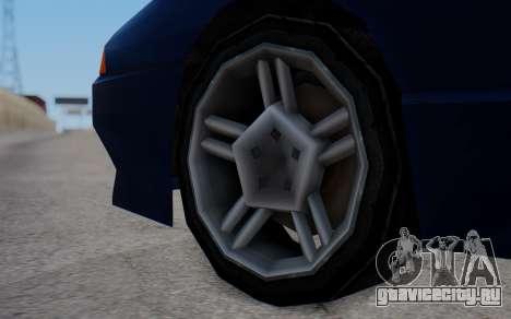 Elegy New SWZ для GTA San Andreas вид сзади слева