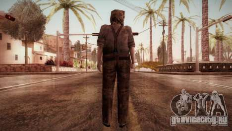 RE4 Dr. Salvador from Mercenaries для GTA San Andreas третий скриншот