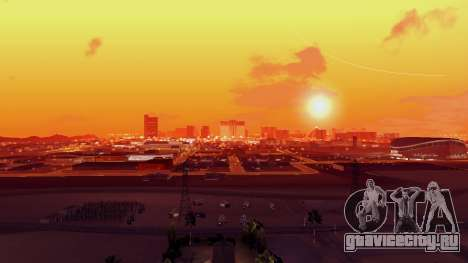 Skybox Real Stars and Clouds v2 для GTA San Andreas четвёртый скриншот