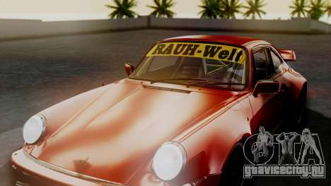 Porsche 911 Turbo (930) 1985 Kit A для GTA San Andreas