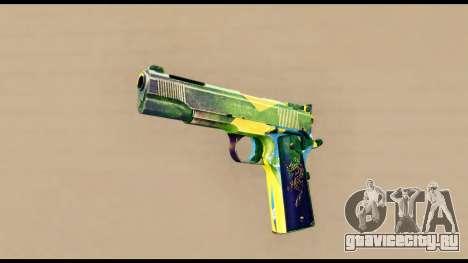 Brasileiro Pistol для GTA San Andreas