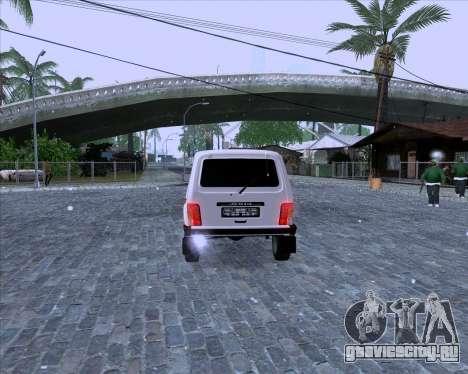 ВАЗ 2121 Нива 4x4 для GTA San Andreas вид справа
