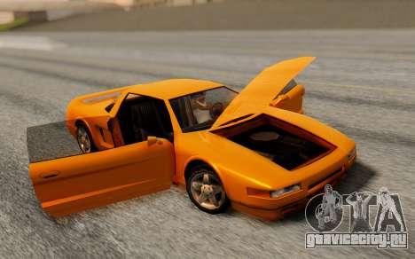 Infernus Hamann Edition Backup Standart для GTA San Andreas вид сзади слева