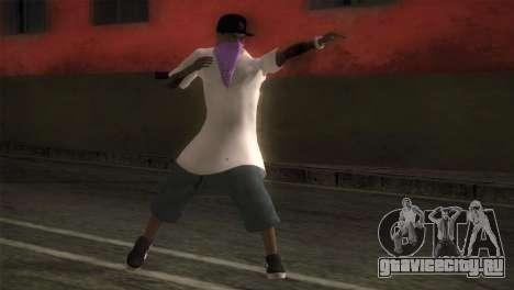 East Side Ballas Member для GTA San Andreas