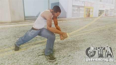 Red Dead Redemption Katana для GTA San Andreas третий скриншот