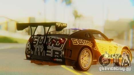 Nissan GT-R GT1 Sumo Tuning для GTA San Andreas вид слева