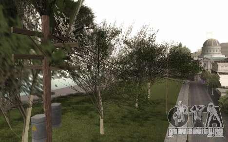 Копия оригинальных деревьев для GTA San Andreas