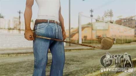 Golf Club from Silent Hill Downpour для GTA San Andreas второй скриншот