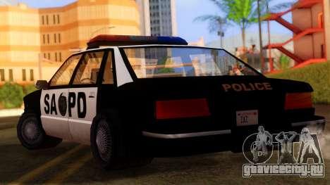Police SA Premier для GTA San Andreas вид слева