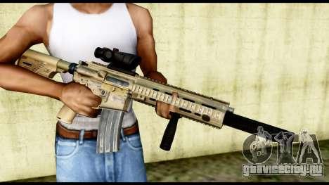 HK416 SOPMOD для GTA San Andreas третий скриншот