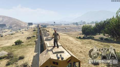Improved freight train 3.8 для GTA 5 десятый скриншот