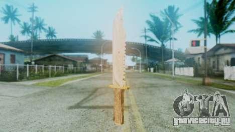 Red Dead Redemption Knife для GTA San Andreas второй скриншот