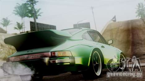 Porsche 911 Turbo (930) 1985 Kit A PJ для GTA San Andreas вид слева