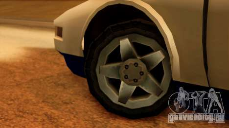 Police Infernus для GTA San Andreas вид сзади слева