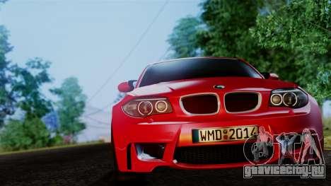 BMW 1M E82 v2 для GTA San Andreas