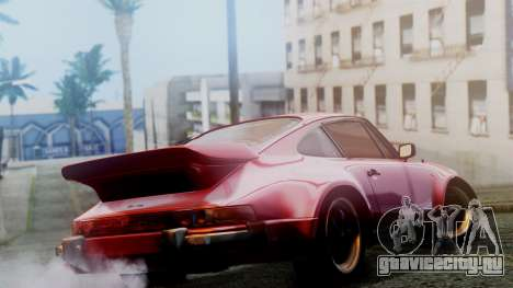 Porsche 911 Turbo (930) 1985 Kit A для GTA San Andreas вид сзади слева