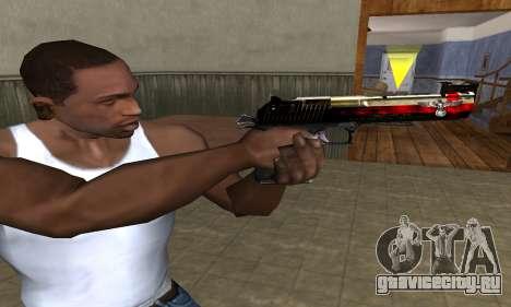 Totenkopf Deagle для GTA San Andreas третий скриншот