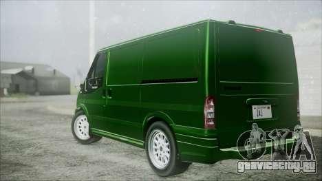 Ford Transit SSV 2011 для GTA San Andreas вид слева