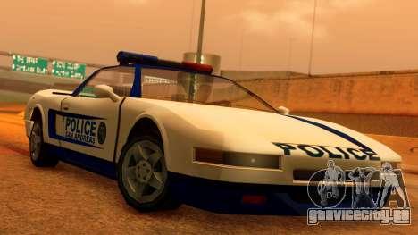 Police Infernus для GTA San Andreas