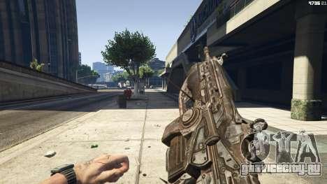 Gears of War Lancer 1.0.0 для GTA 5 четвертый скриншот