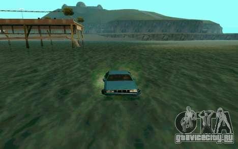 Cars Water для GTA San Andreas третий скриншот