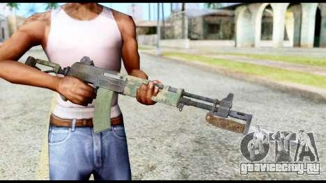 AK-47 from Resident Evil 6 для GTA San Andreas третий скриншот