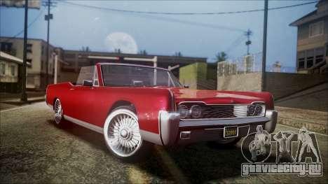 GTA 5 Vapid Chino для GTA San Andreas