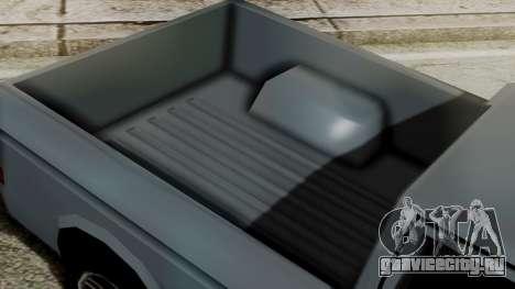 Bobcat New Edition для GTA San Andreas вид сзади слева