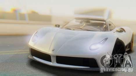 GTA 5 Pegassi Osiris IVF для GTA San Andreas вид сзади слева