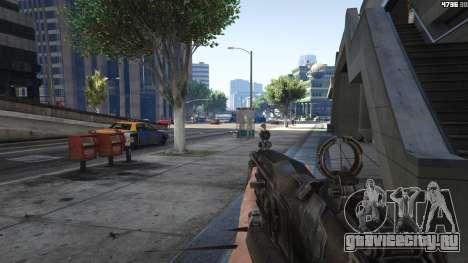 Gears of War Lancer 1.0.0 для GTA 5 пятый скриншот