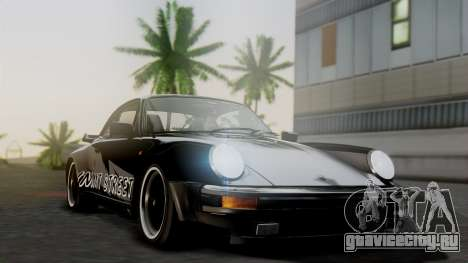 Porsche 911 Turbo (930) 1985 Kit A для GTA San Andreas вид изнутри