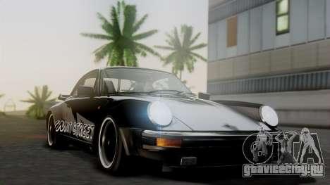 Porsche 911 Turbo (930) 1985 Kit A для GTA San Andreas вид изнутри