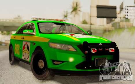 Ford Taurus Iraq Police для GTA San Andreas