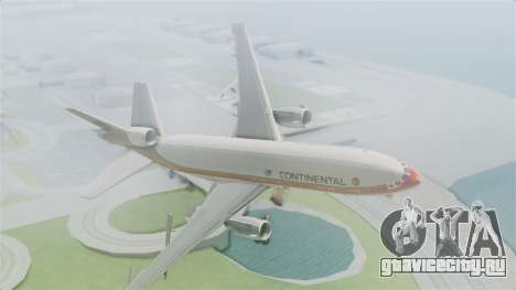DC-10-30 Continental Airlines 1985 для GTA San Andreas