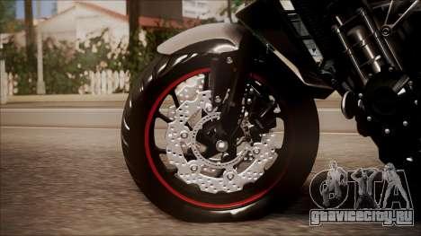 Honda CB650F Pretona для GTA San Andreas вид сзади слева