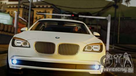 BMW 7 Series F02 2013 для GTA San Andreas