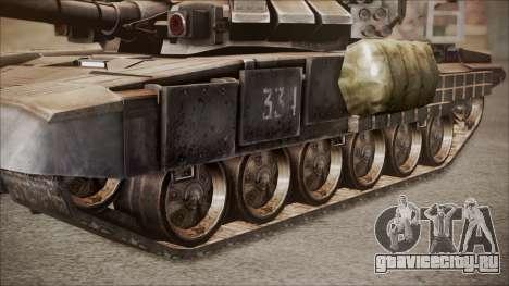 T-90A BF4 для GTA San Andreas вид справа
