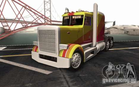 ShockWave Jet Truck для GTA San Andreas