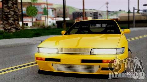 Nissan Silvia S13 для GTA San Andreas вид сзади слева