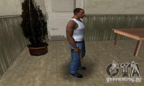 Brown Jungles Deagle для GTA San Andreas третий скриншот