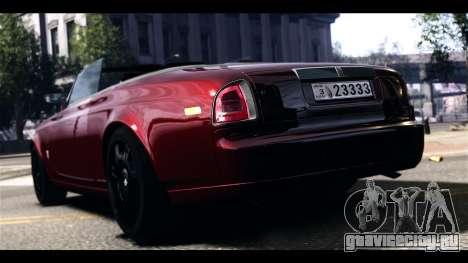 Rolls-Royce Phantom 2009 Coupe v1.0 для GTA 4 вид сзади слева