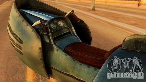 20-X Automatic для GTA San Andreas вид сзади слева