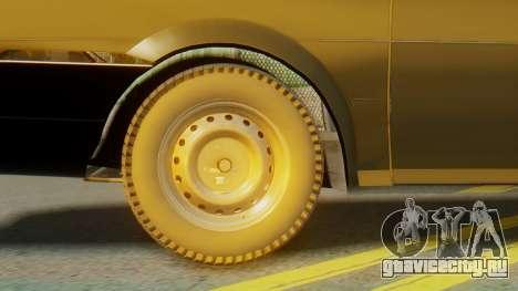 Volkswagen Santana Gz для GTA San Andreas вид сзади слева