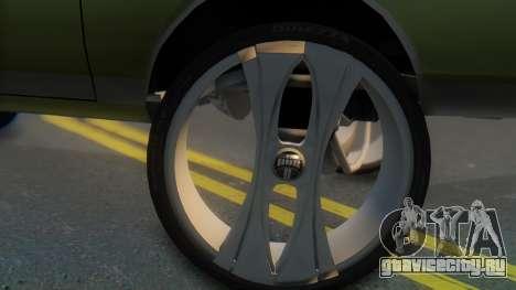 Chevrolet Caprice для GTA San Andreas вид сзади слева