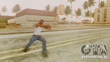Red Dead Redemption Shovel для GTA San Andreas третий скриншот