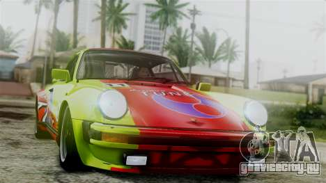 Porsche 911 Turbo (930) 1985 Kit C для GTA San Andreas вид сбоку
