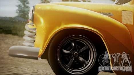 Chevrolet 3100 Truck 1951 для GTA San Andreas вид справа
