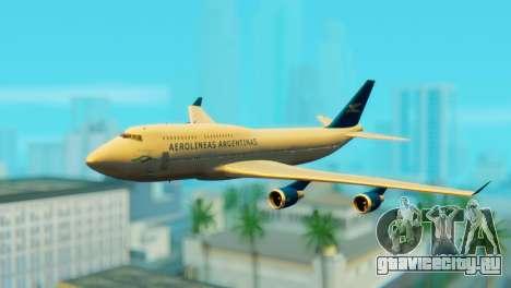 Boeing 747 Argentina Airlines для GTA San Andreas