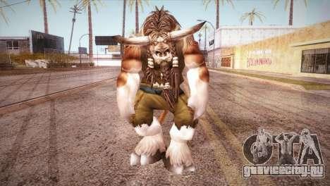 Таурен для GTA San Andreas второй скриншот